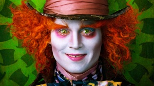 Johny Depp as The Mad Hatter in Tim Burton's Alice In Wonderland