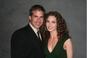Alicia Minshew and husband Richie Herschenfeld Photo: Steve Bergeman