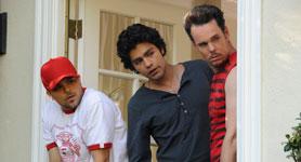 Jerry Ferrera, Adrian Granier, Kevin Dillon Photo: HBO
