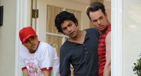 Jerry Ferrera, Adrian Granier, Kevin Dillon Photo: HBO
