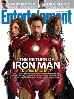 EW Comic-ConCover Iron Man 2