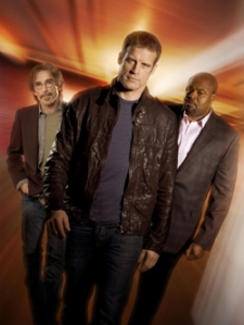 Jackie Earle Haley, Mark Valley, Chi McBride of Human Target Photo: Fox