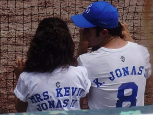 Kevin Jonas and Danielle Deleasa Photo: shaunae