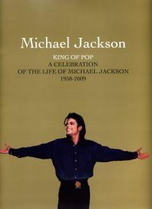 Michael Jackson Memorial Program