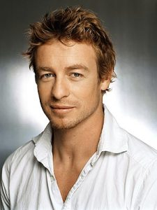 "Simon Baker, Emmy nominee for Best Lead Actor in a Drama Series for ""The Mentalist"""
