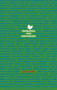 Woodstock 40th Anniversary Poster