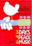 Woodstock Original 1969 Poster