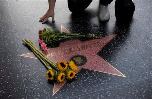 Patrick Swayze's Star on The Hollywood Walk Of Fame. (AP Photo/Jae C. Hong)