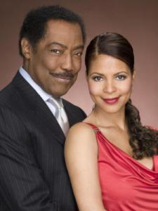 James Reynolds and Renee Jones as Abe and Lexie Carver Photo:NBC