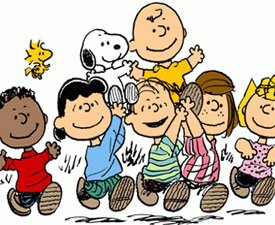 Peanuts Gang (Copyright: Charles Schulz)