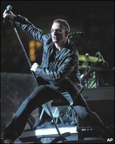 Bono of U2 (Photo: U2)